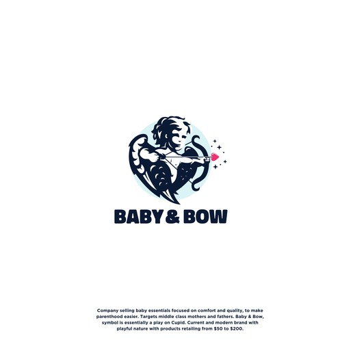 Premium Logo for Baby & Bow