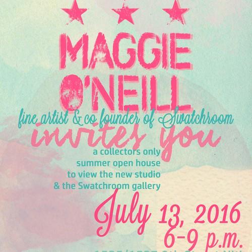 Invitation Design with Watercolor