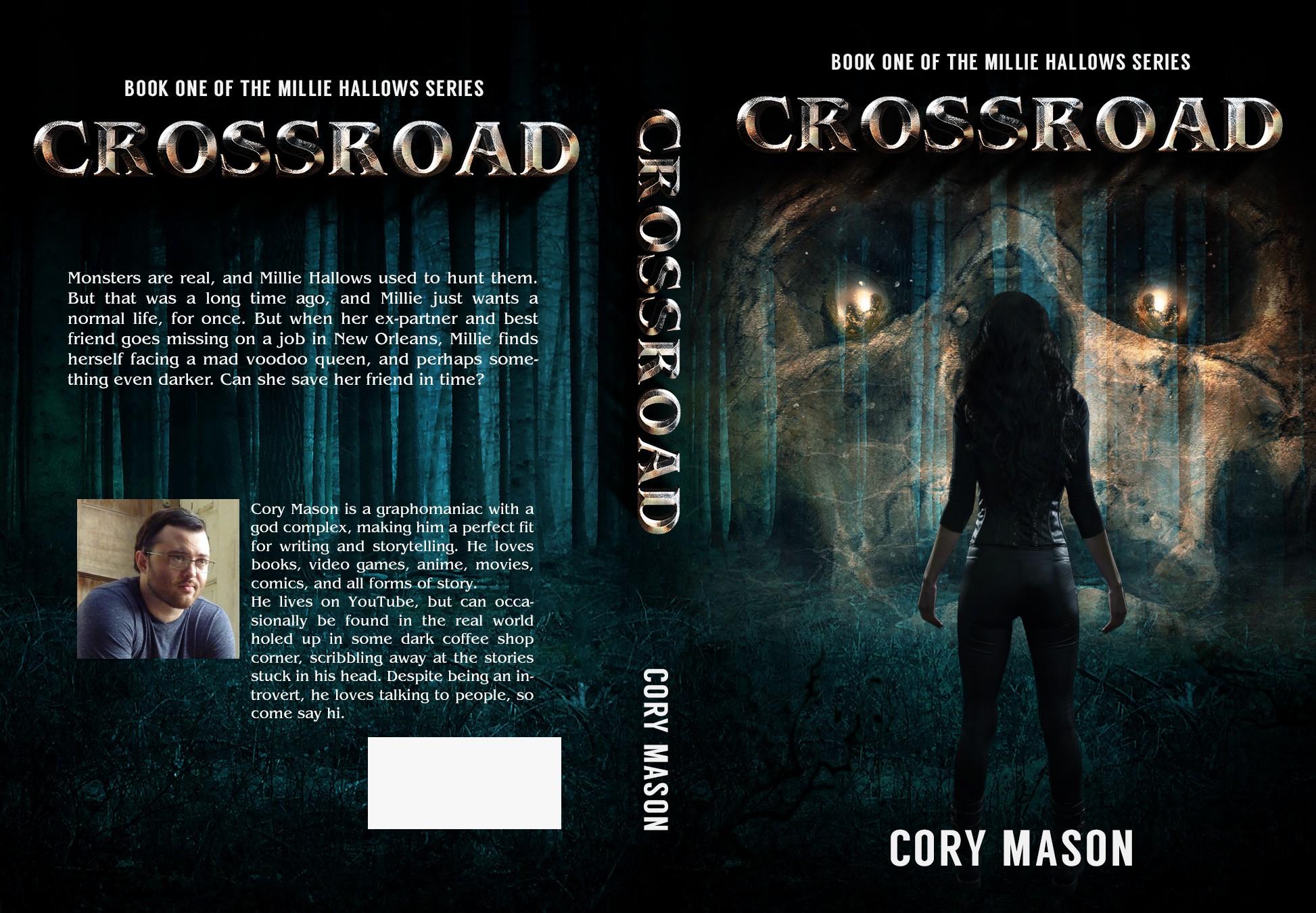 Design a Contemporary Fantasy/Paranormal Thriller Book Cover