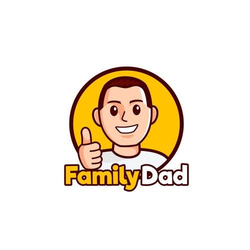 Family dad logo for app