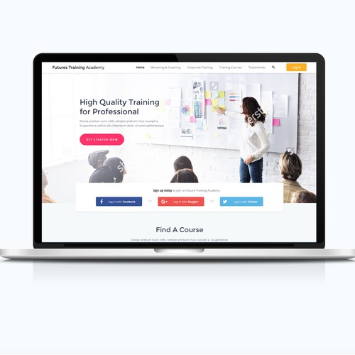 Web design-Training Academy