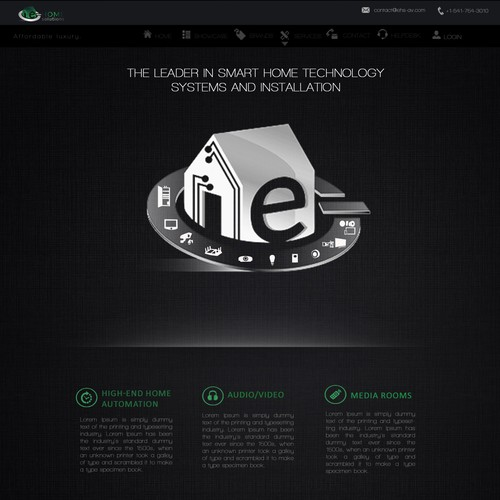 Home page design - Automation