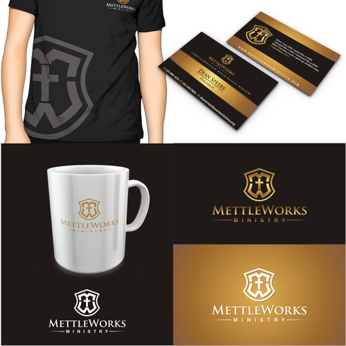 Partner with MettleWorks Ministry to design us a new logo and business card