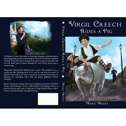 book cover design and illustrations
