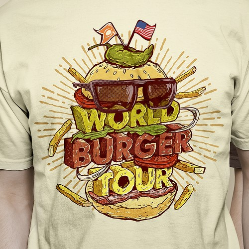 Burger Tour Tshirt