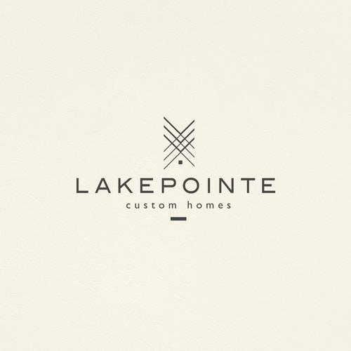Classy and Stylish Logo Design for Custom Home Builders