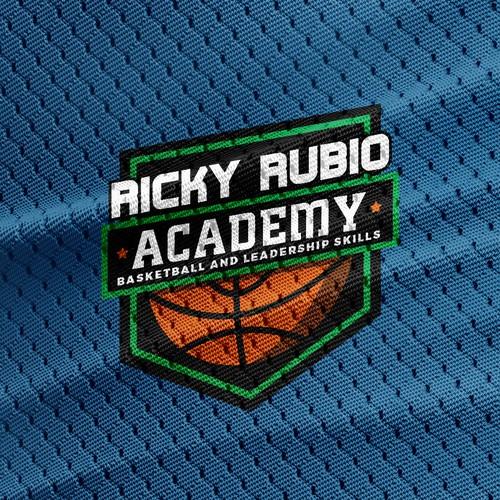 Logo concept for basketball camp
