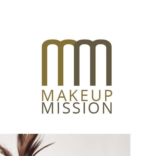 Logo for a make up artist