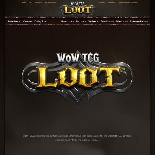 WoW TCG LOOT Logo
