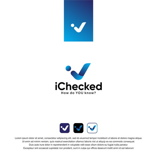 Logo for iChecked.