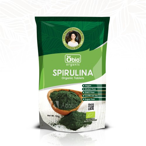 SUP design for Spirulina