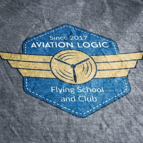 Logo for Aviation School