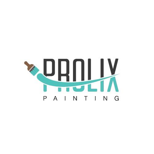 A modern Logo / Brand Development for Prolix Painting