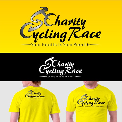 Create a winning logo for Saudi Charity Cycling Race