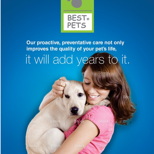 Create Program Brochure for Pet Wellness Program