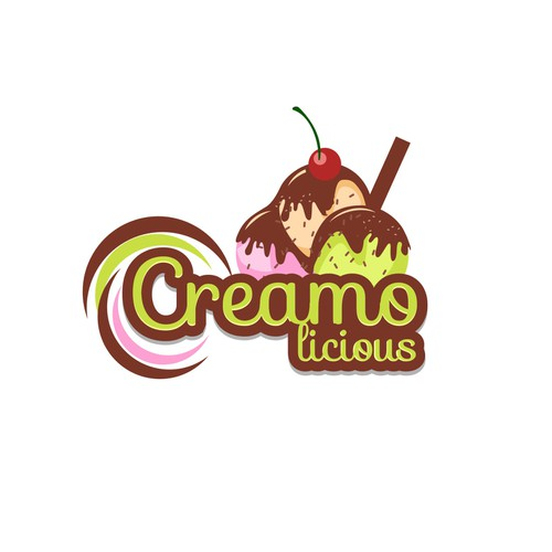 Get Super Creative! Ice Cream Shop with Liquid Nitrogen! Unique & Fun Logo Needed!