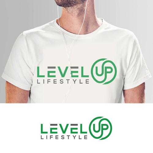 Bold Logo of Level UP