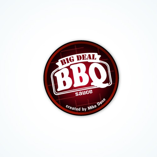 Big Deal BBQ  Logo Design...Because your kind of a big deal.