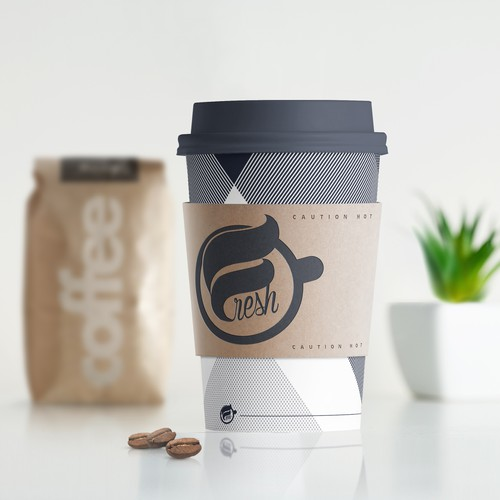 Logo concept for Coffeehouse.
