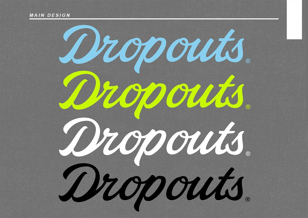 Logo for Dropouts Hat