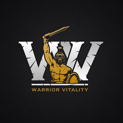 Logo for Warrior Vitality