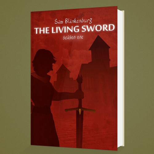 The Living sword - Book Cover