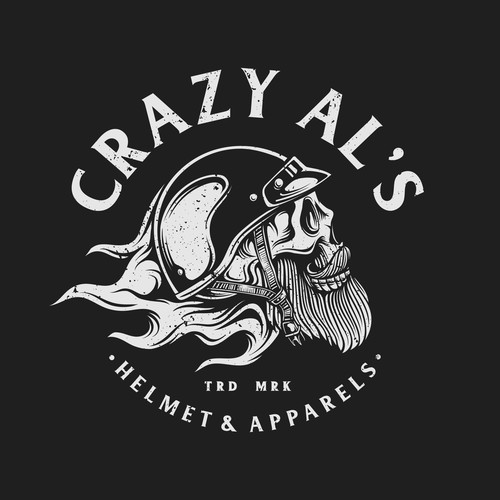 Vintage Bold logo for Crazy Al's