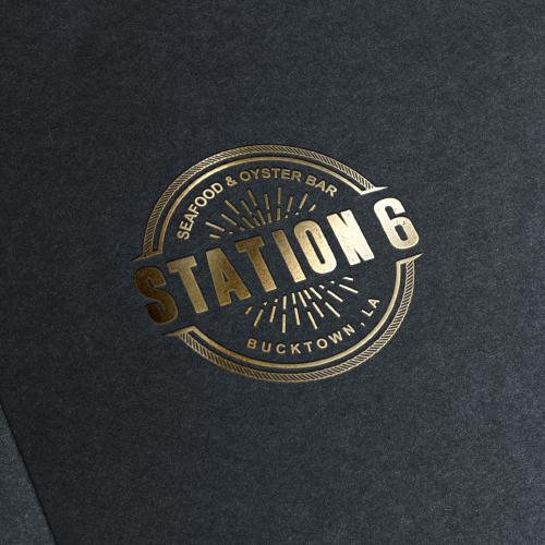 logo for new restaurant- Station 6