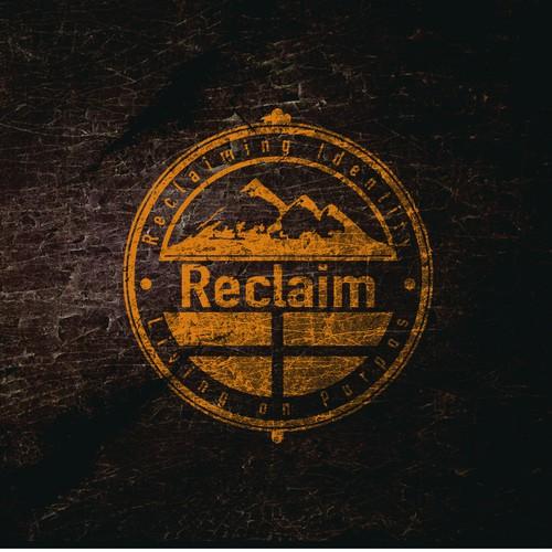 Create a masculine logo for Reclaim Ministries!
