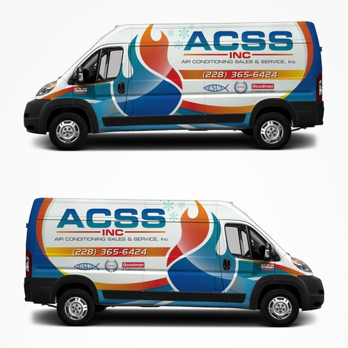 ACCS van wrap contest