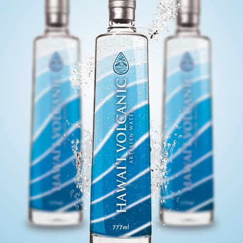 Create the next logo for Hawaii Volcanic Artesian Water