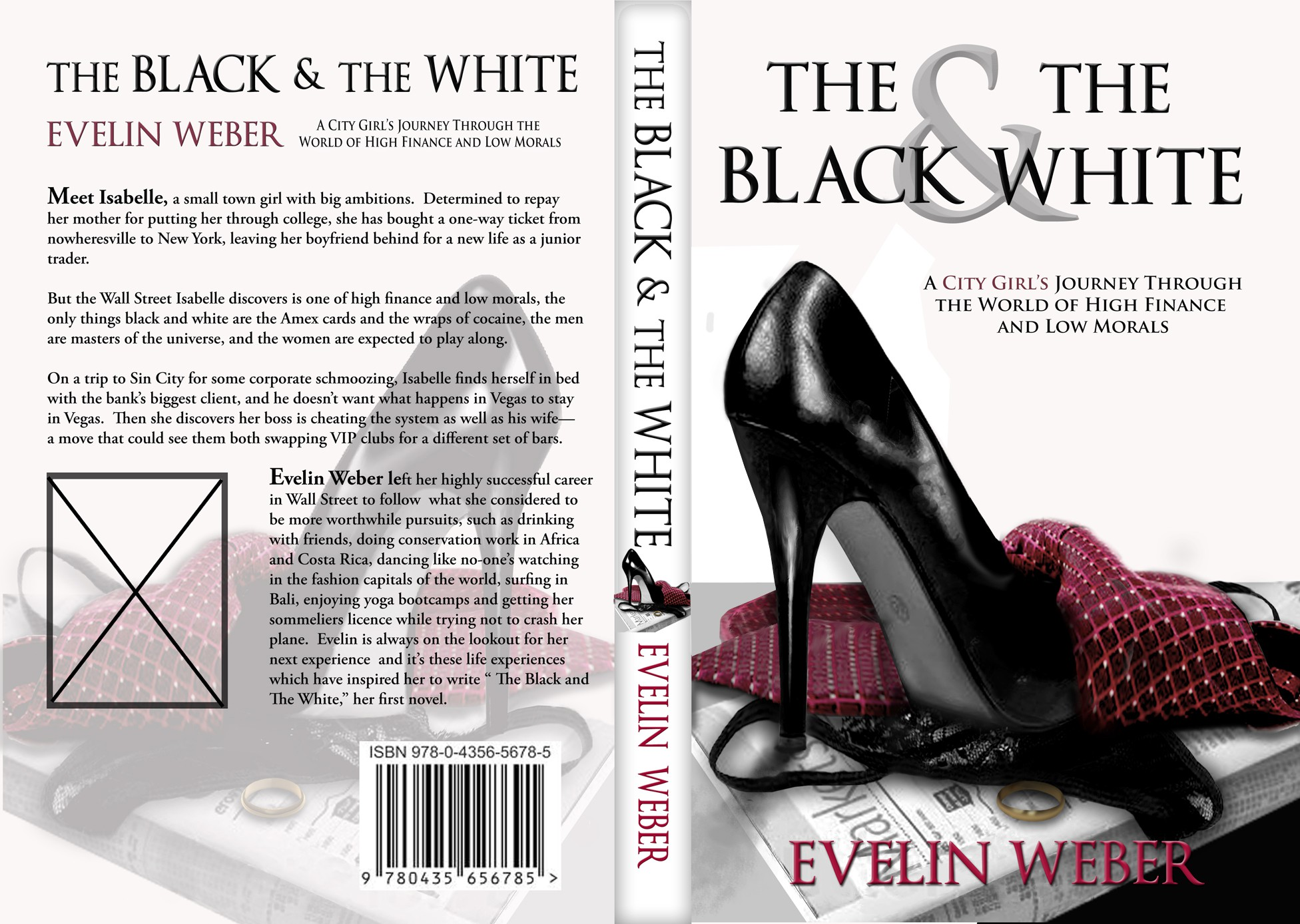 New book or magazine cover wanted for Evelin G. Weber