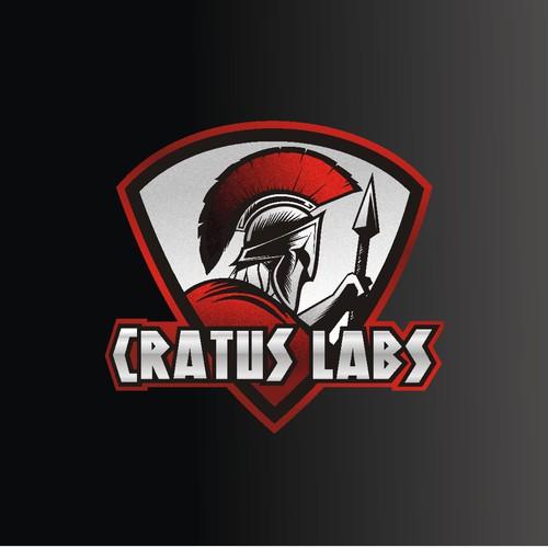 Bodybuilders logo for Cratus Labs