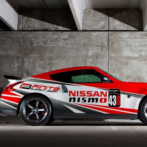 Nissan 370Z Race Car Design