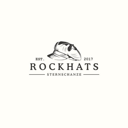 classic logo rockhats