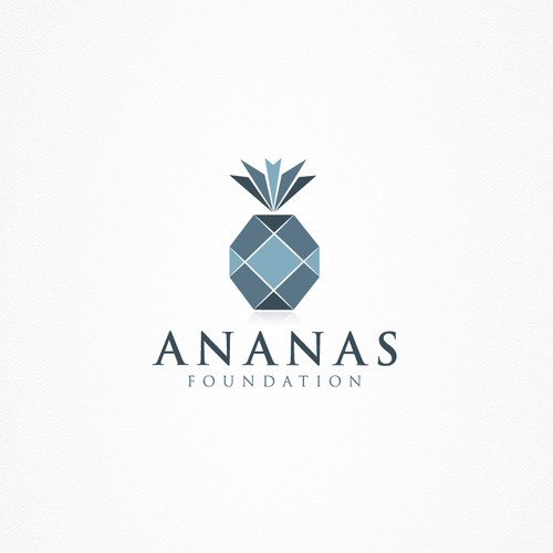 Pineapple Logo For Ananas Foundation