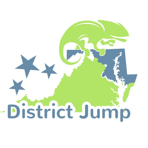Logo for The District Jump
