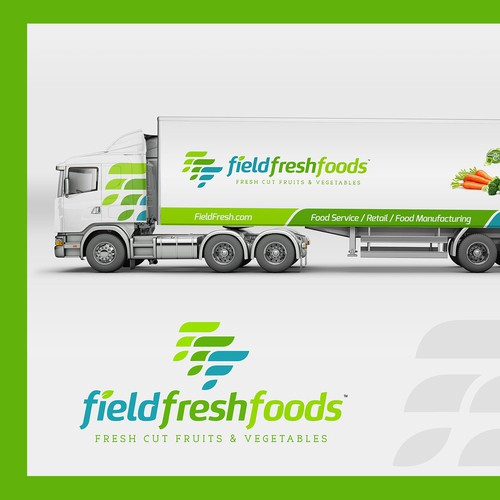 Truck wrap for fieldfreshfoods