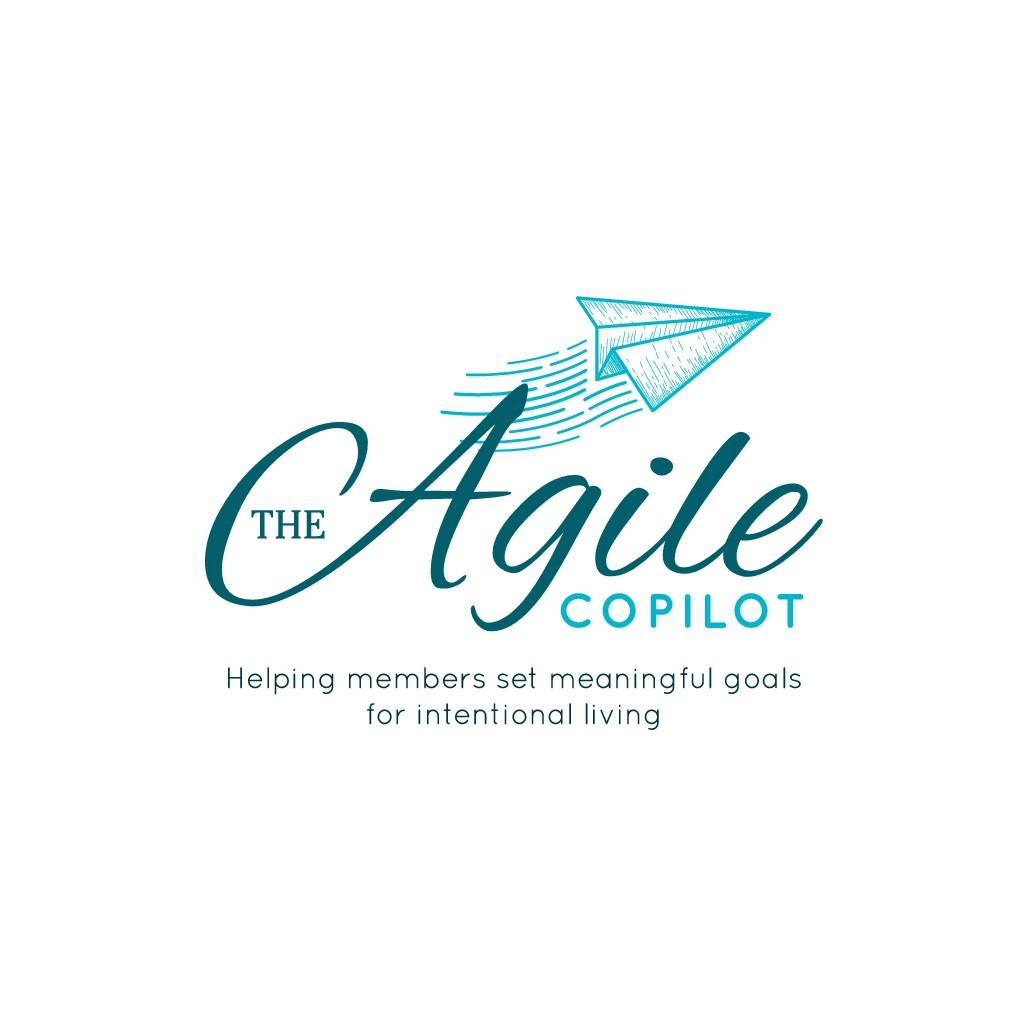 Design a zen/fun logo for The Agile Copilot