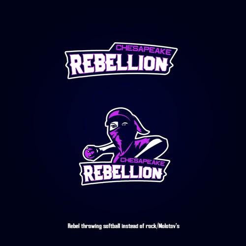 Sports logo rebels