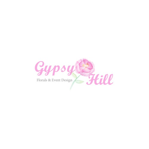 Soft water color flower concept for Gypsy Hill