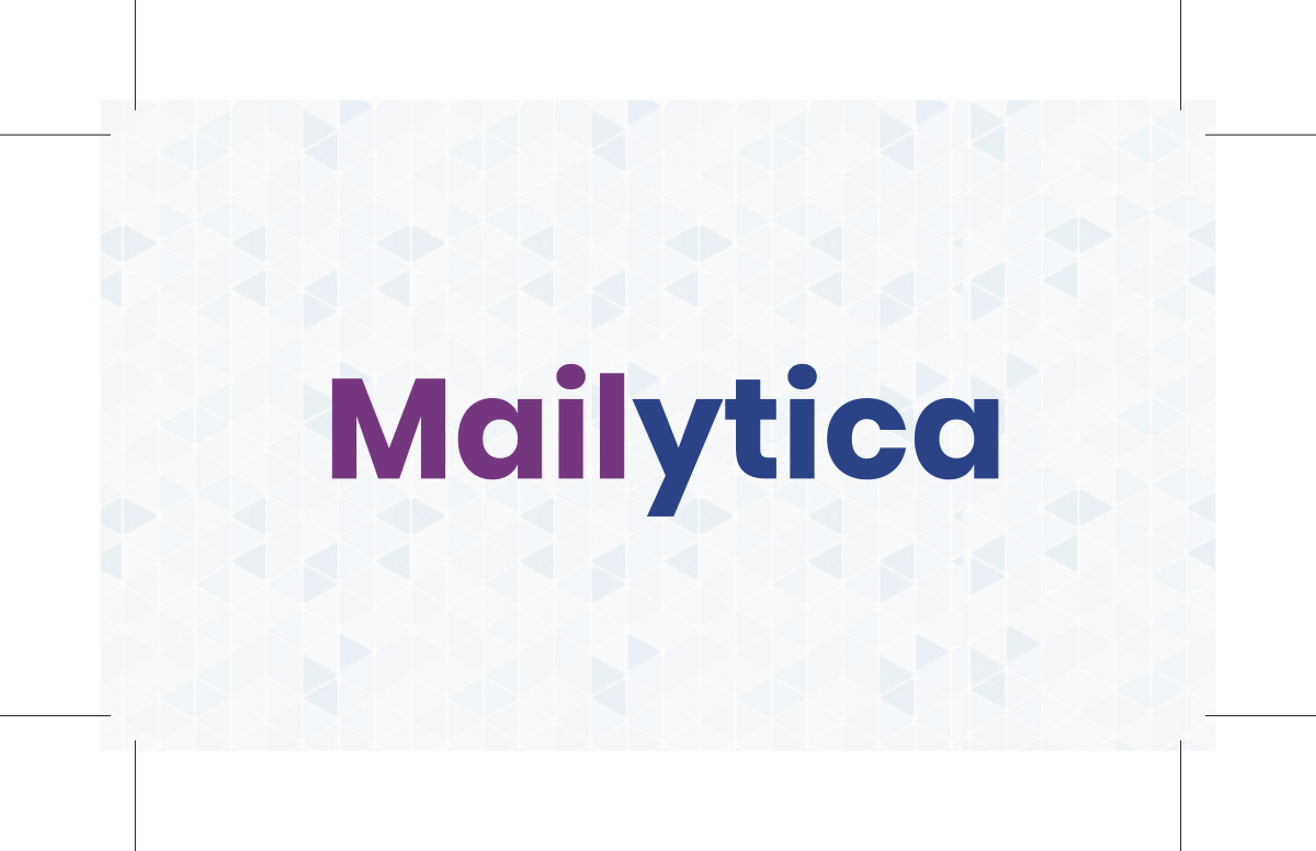 Business card mailytica