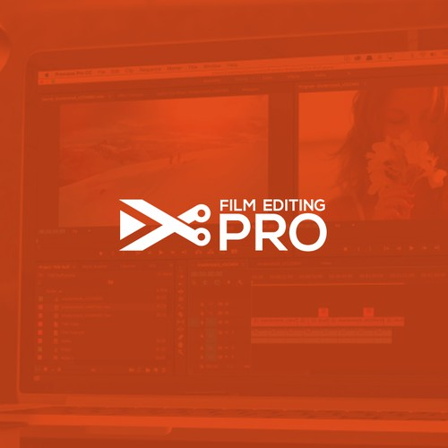 Film Editing pro logo design