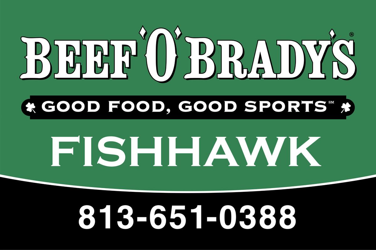 Beef O' Brady's banner