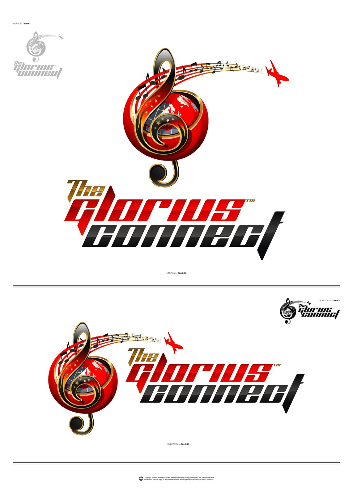"""***Create the NEW Logo for """"The Glorius Connect""""***"""