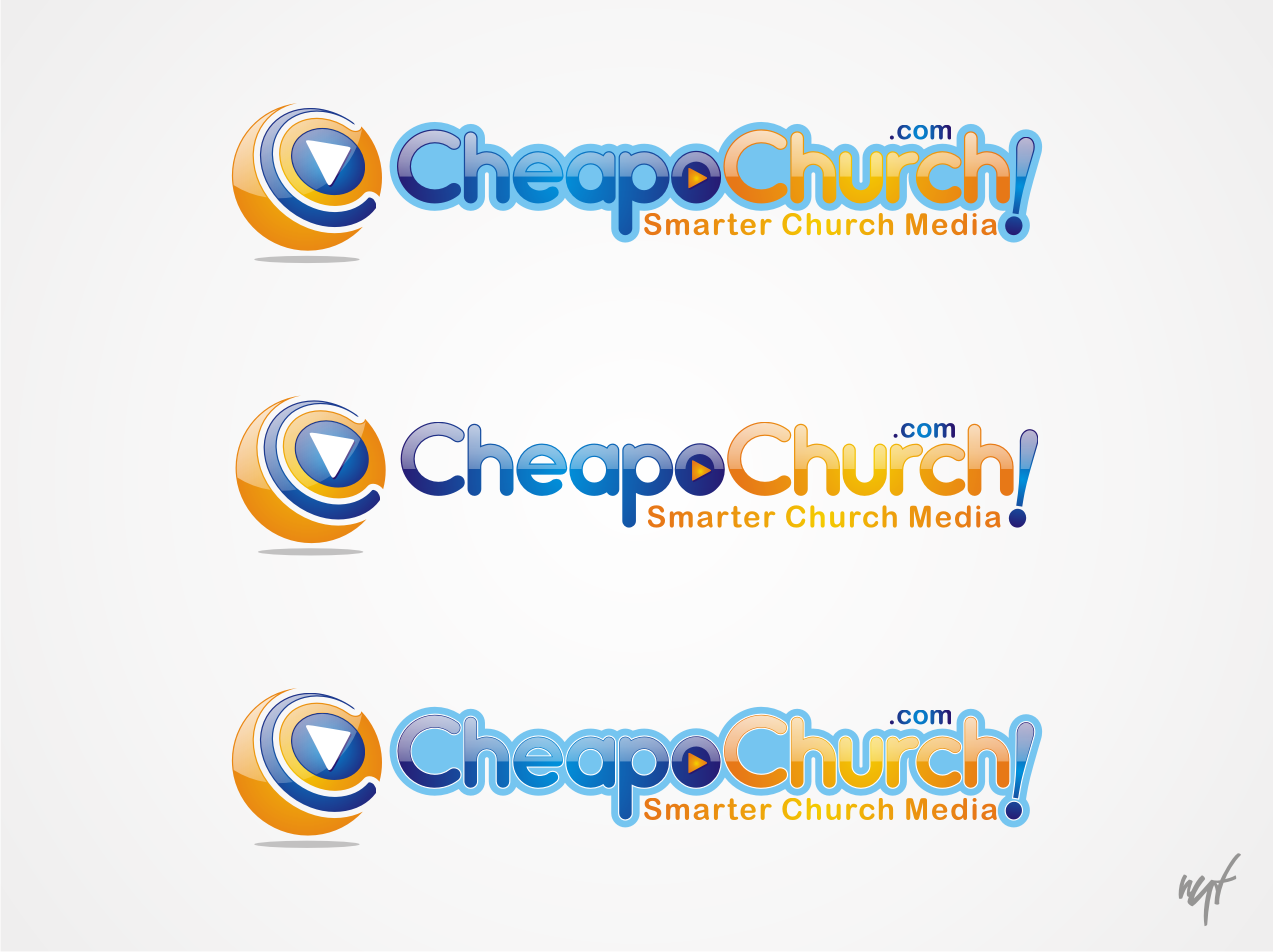 Dude! Make a killer logo for CheapoChurch.com