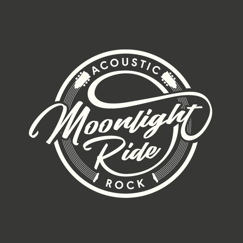 An acoustic rock band logo.
