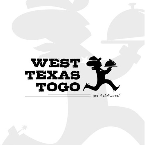 Fun Logo for Delivery Service in West Texas