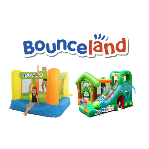 Playful logo Bouncy Castles