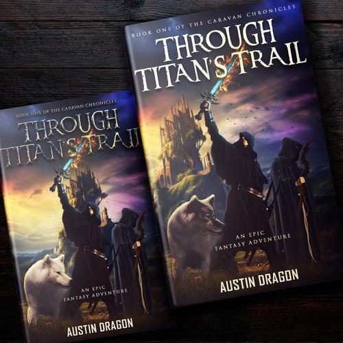 Cover Design For An Fictional Fantasy Novel